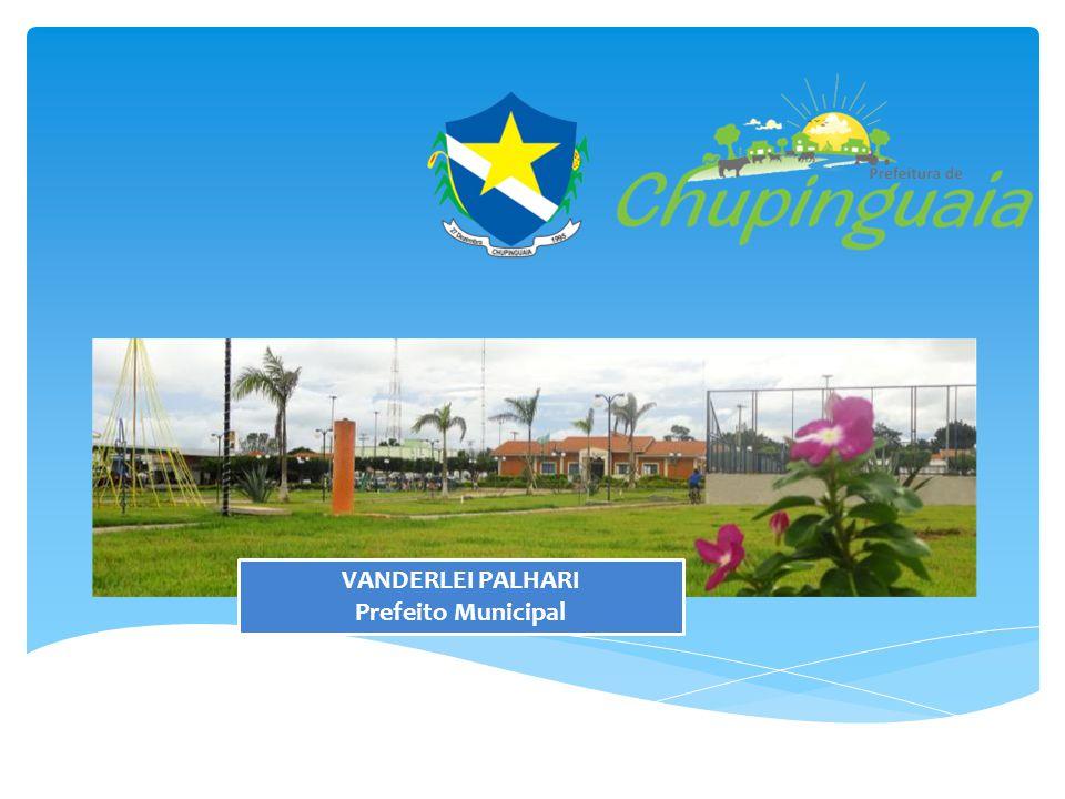 VANDERLEI PALHARI Prefeito Municipal