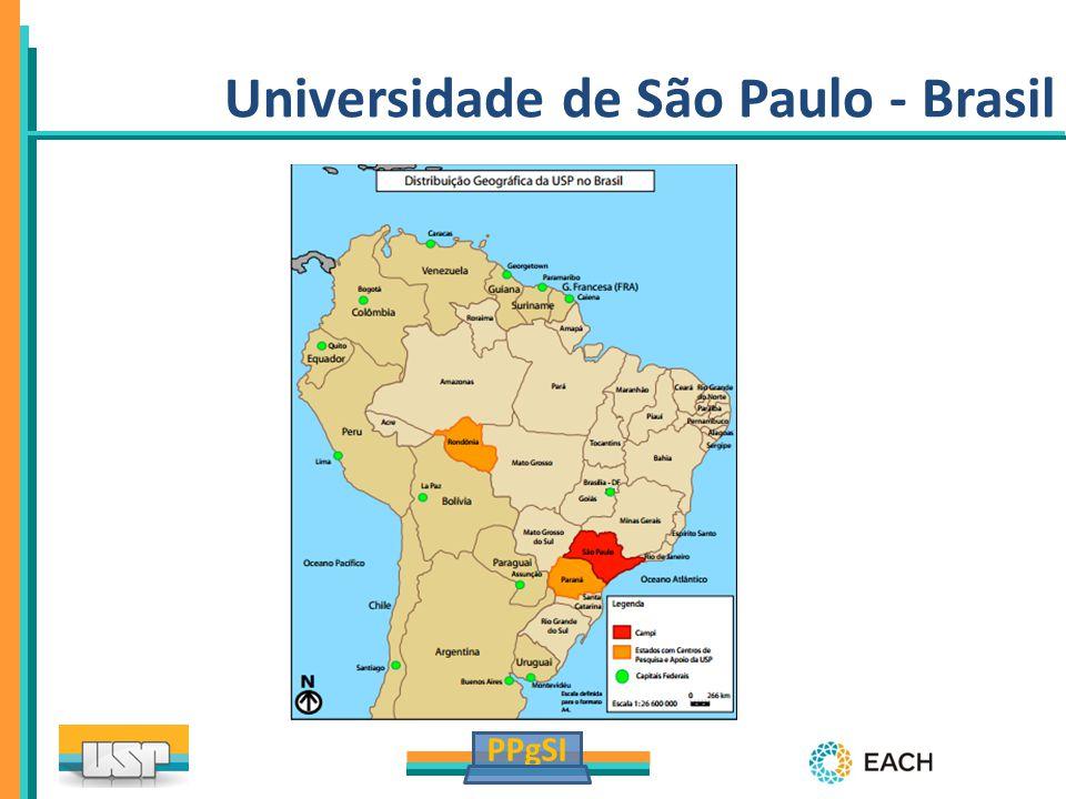 PPgSI University of São Paulo – Brazil Universidade de São Paulo - Brasil