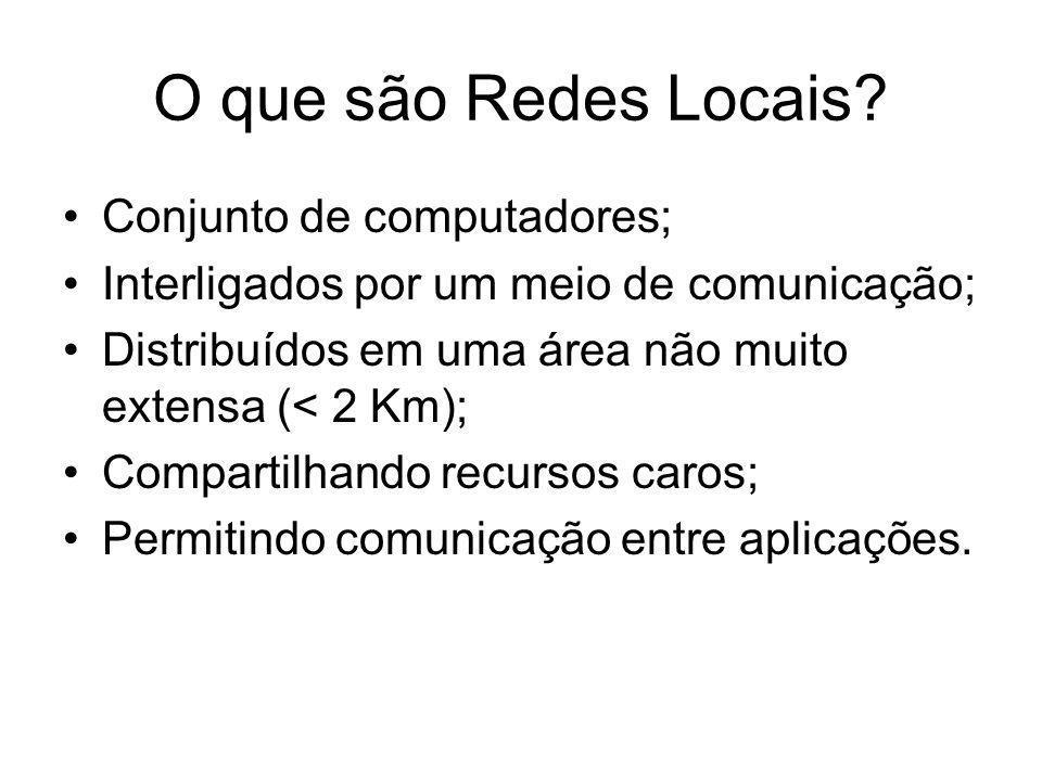 O que são Redes Locais.