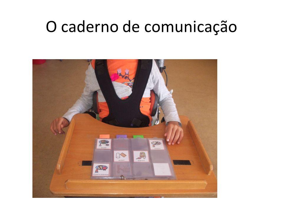 O caderno de comunicação