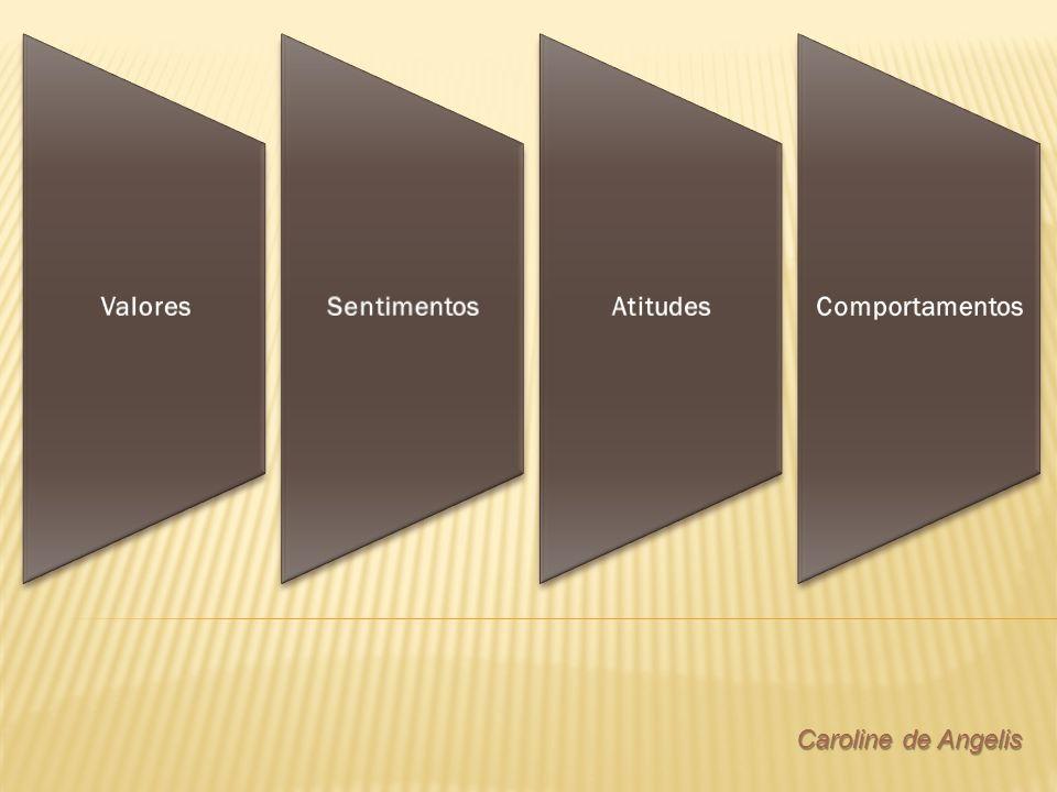 ValoresSentimentosAtitudesComportamentos Caroline de Angelis