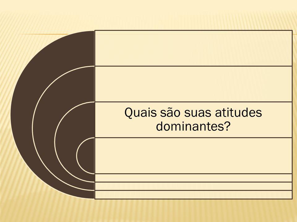 Quais são suas atitudes dominantes