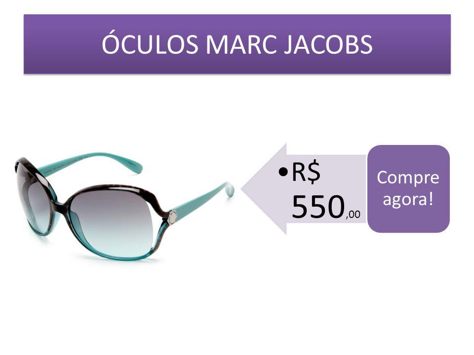 ÓCULOS MARC JACOBS R$ 550,00 Compre agora!
