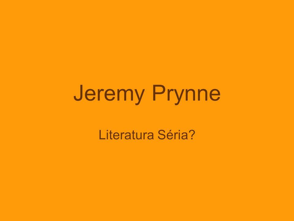 Jeremy Prynne Literatura Séria