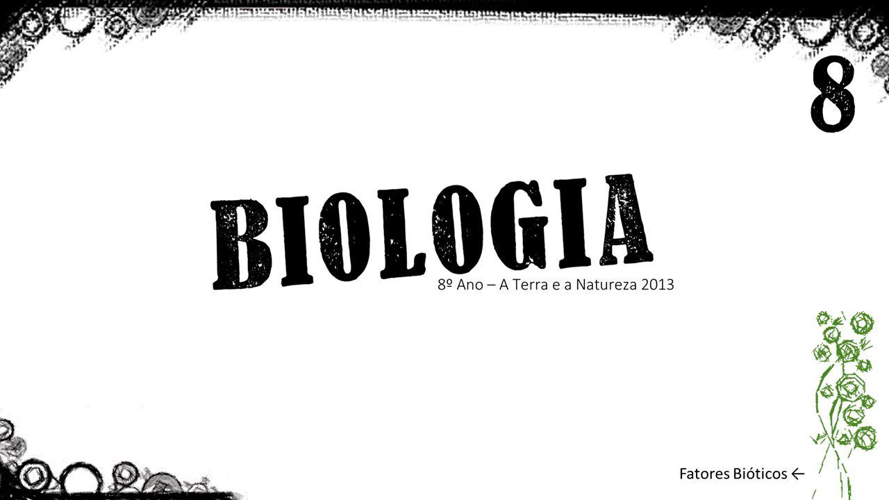 Os Fatores bióticos, são o conjunto dos organismos existentes e as interações efetuadas entre estes.