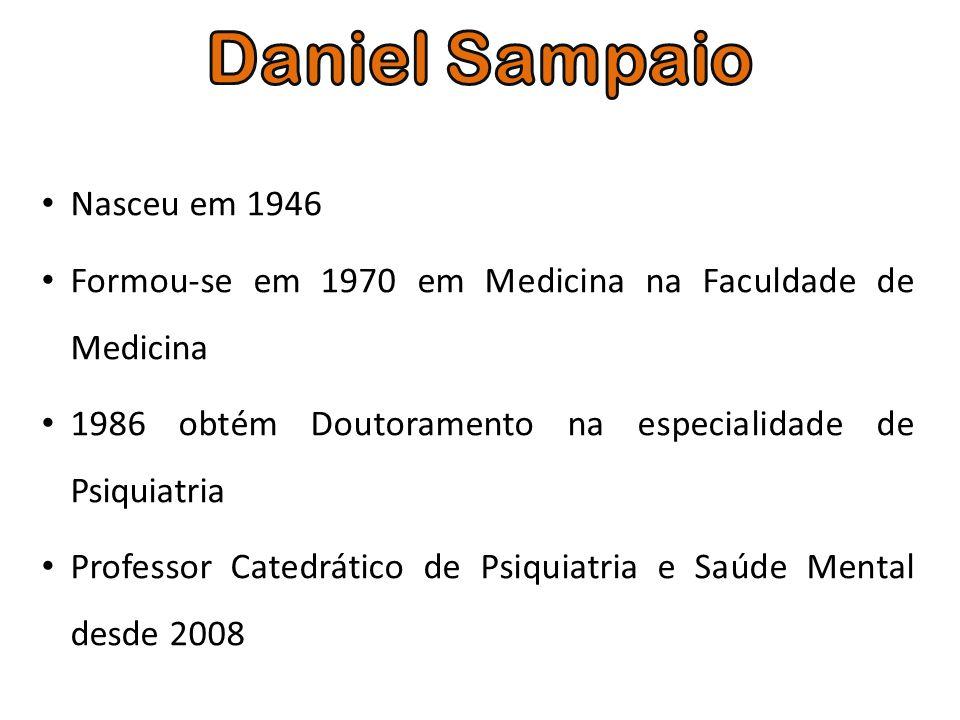Nasceu em 1946 Formou-se em 1970 em Medicina na Faculdade de Medicina 1986 obtém Doutoramento na especialidade de Psiquiatria Professor Catedrático de