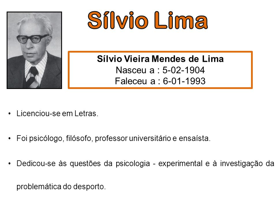 Licenciou-se em Letras. Foi psicólogo, filósofo, professor universitário e ensaísta. Dedicou-se às questões da psicologia - experimental e à investiga
