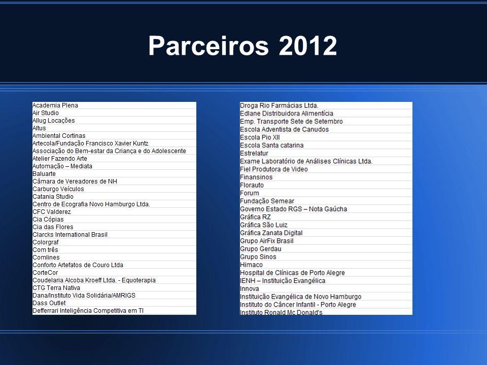 Parceiros 2012