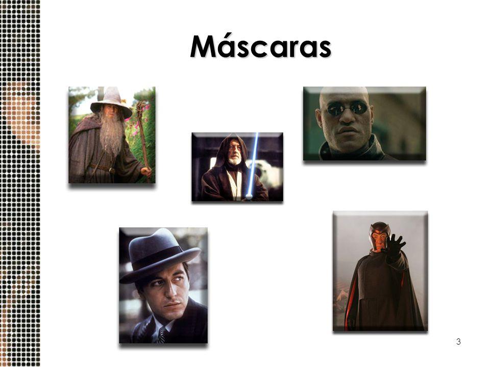 3 Máscaras