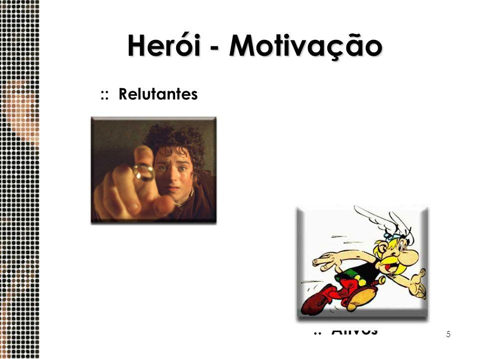 5 Herói - Motivação ::Ativos ::Relutantes
