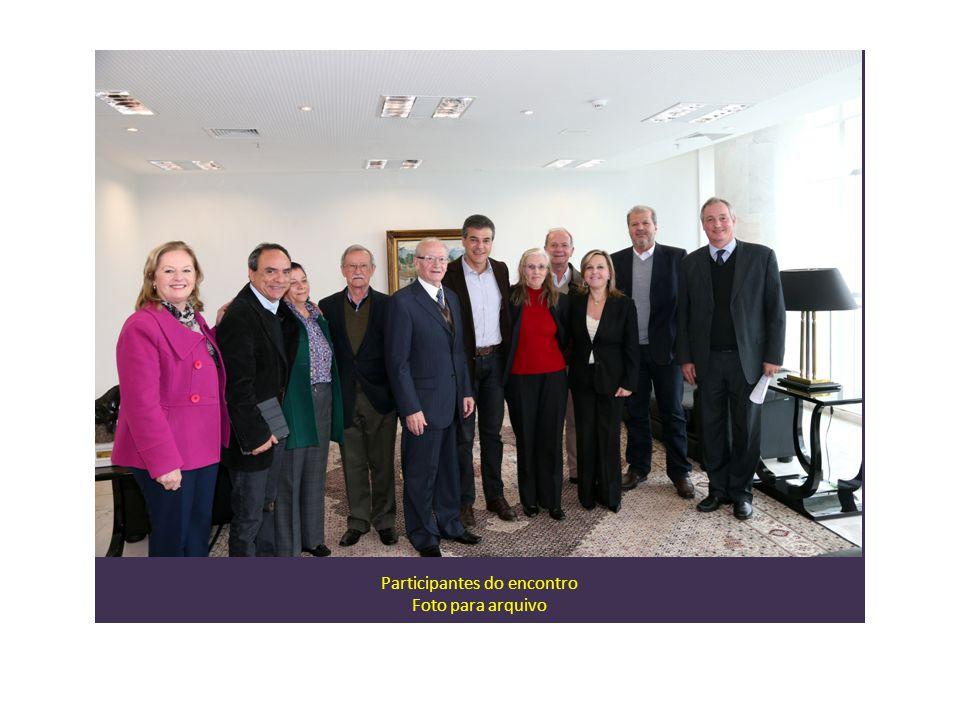Participantes do encontro Foto para arquivo