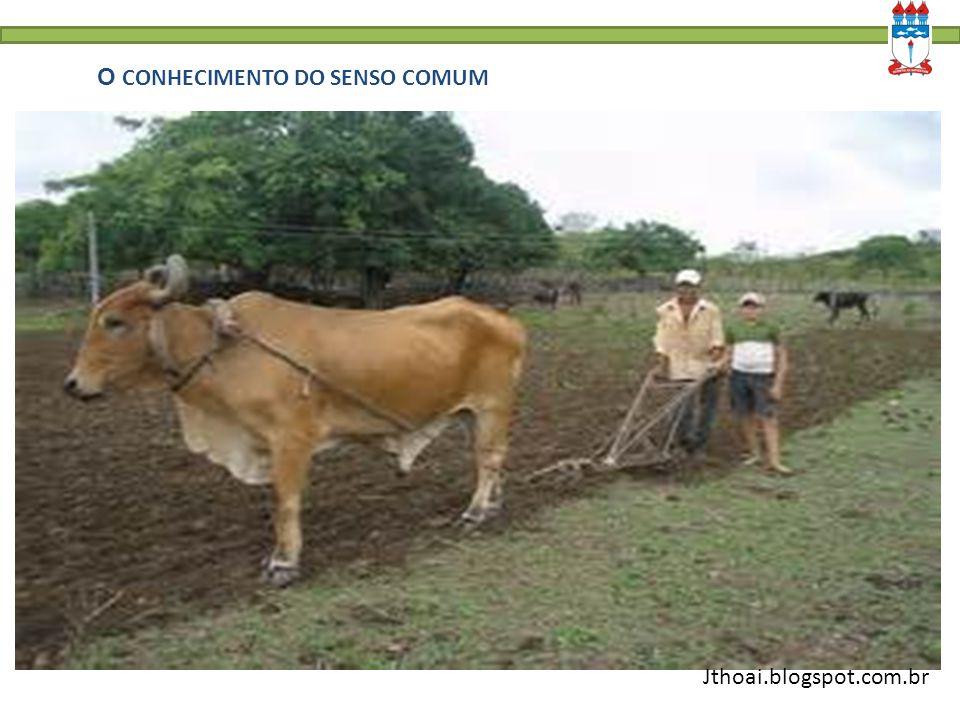 O CONHECIMENTO DO SENSO COMUM C. Jthoai.blogspot.com.br