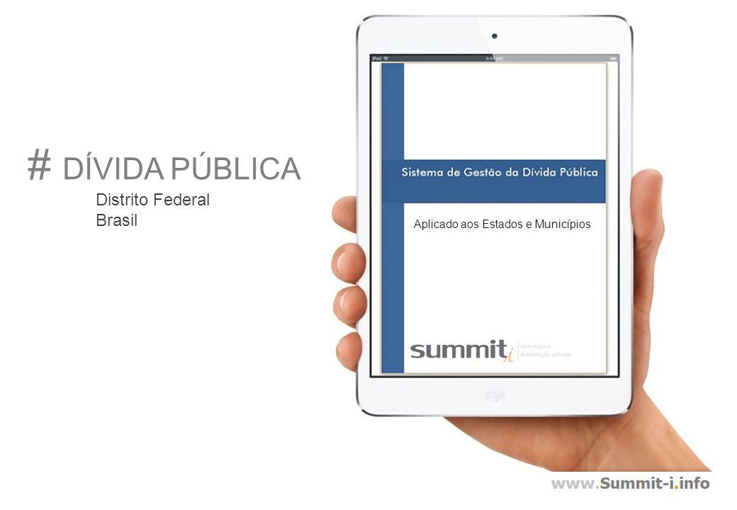# DÍVIDA PÚBLICA Distrito Federal Brasil Aplicado aos Estados e Municípios
