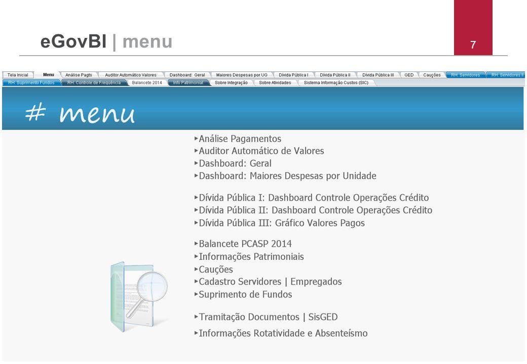 7 eGovBI | menu