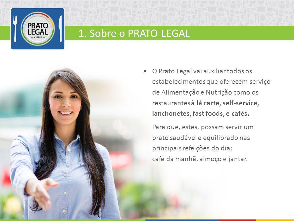 O Prato Legal vai auxiliar todos os estabelecimentos que oferecem serviço de Alimentação e Nutrição como os restaurantes à lá carte, self-service, lan