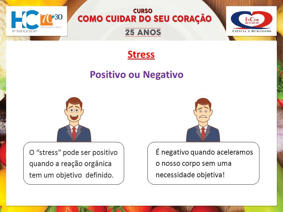 Stress Positivo ou Negativo .