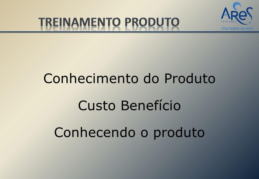 Conhecimento do Produto Custo Benefício Conhecendo o produto
