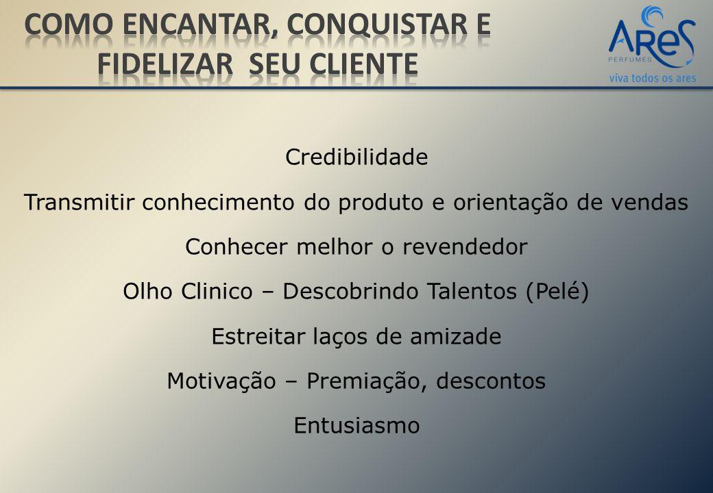 Credibilidade Transmitir conhecimento do produto e orientação de vendas Conhecer melhor o revendedor Olho Clinico – Descobrindo Talentos (Pelé) Estrei