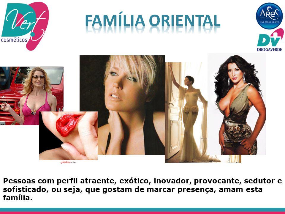 Pessoas com perfil atraente, exótico, inovador, provocante, sedutor e sofisticado, ou seja, que gostam de marcar presença, amam esta família.