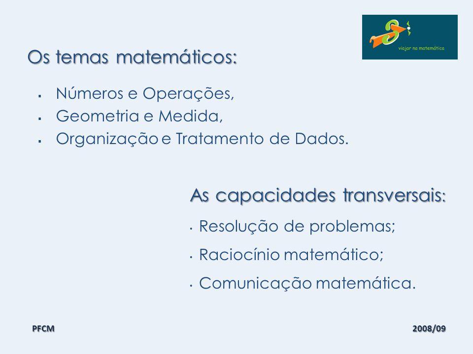 A natureza das tarefas: Resolução de problemas; Actividades de investigação; Prática compreensiva de procedimentos; Jogos; Projectos.