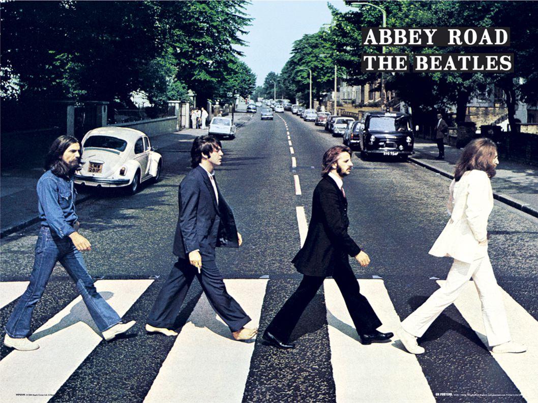 A história a partir de outro ponto Figura dos Beatles
