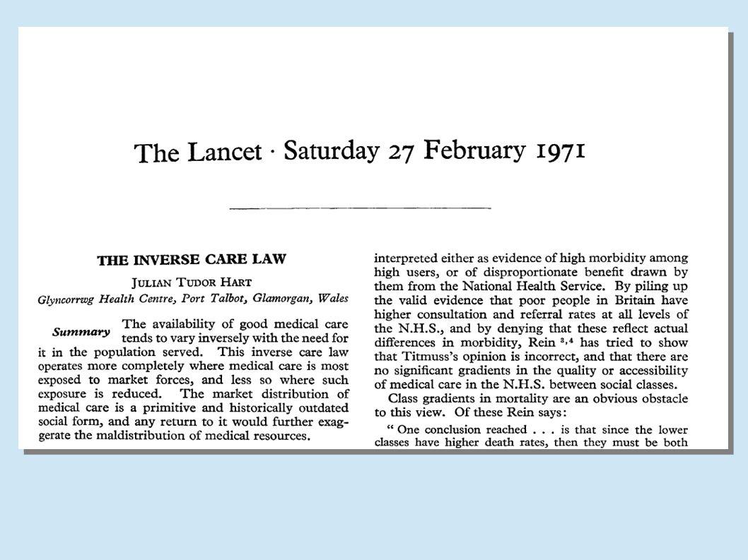 A Lei dos Cuidados Inversos Imagem do artigo original