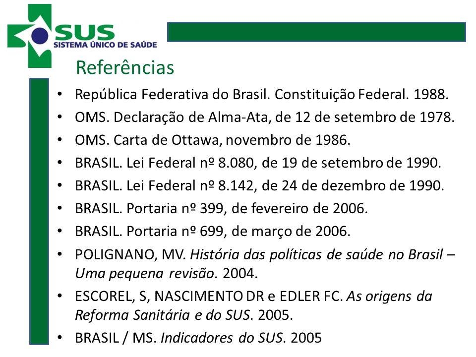 República Federativa do Brasil. Constituição Federal.