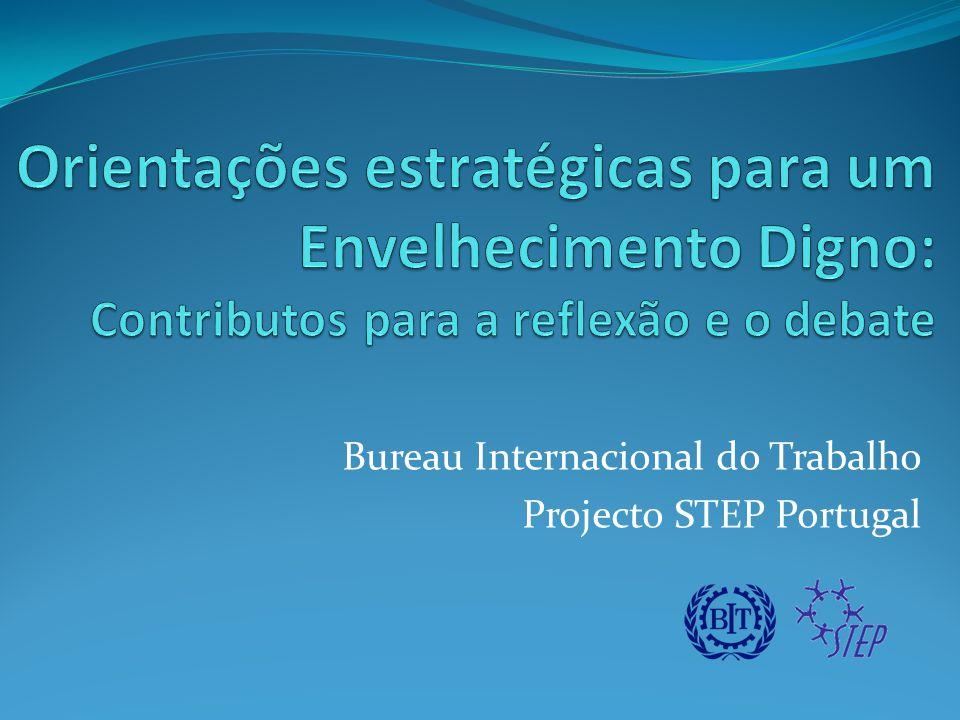 O projecto STEP Portugal é o resultado de uma parceria entre o Governo de Portugal e a OIT, é implementado pelo BIT.