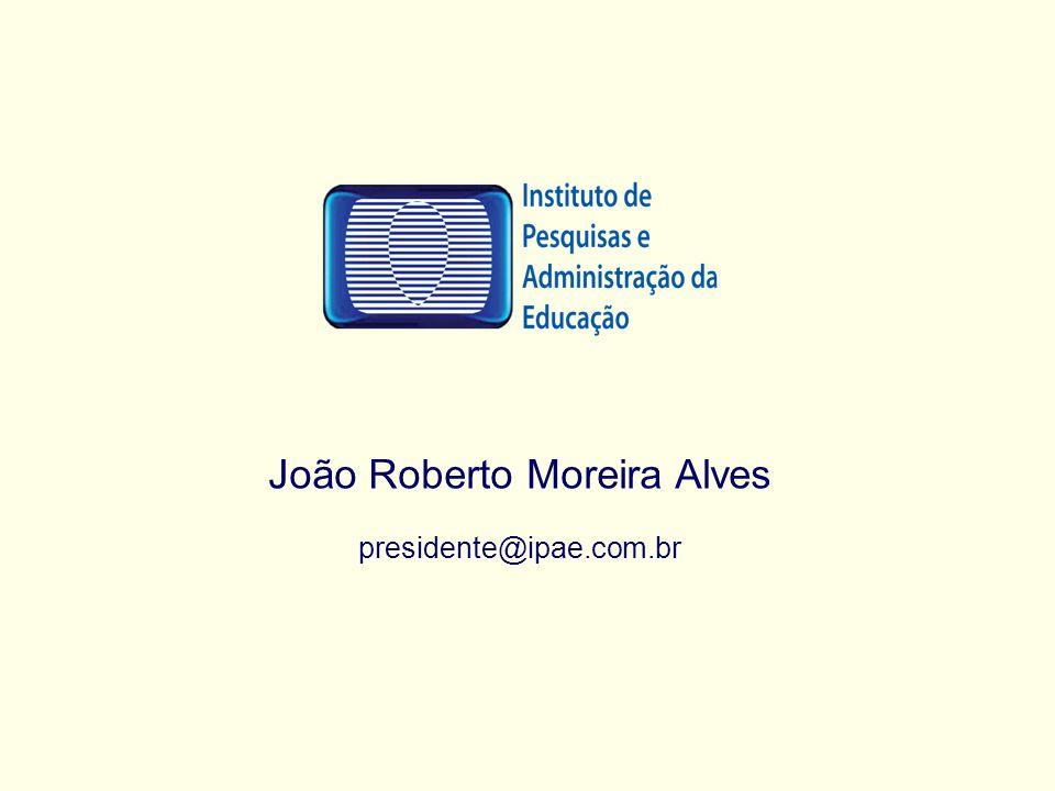 João Roberto Moreira Alves presidente@ipae.com.br