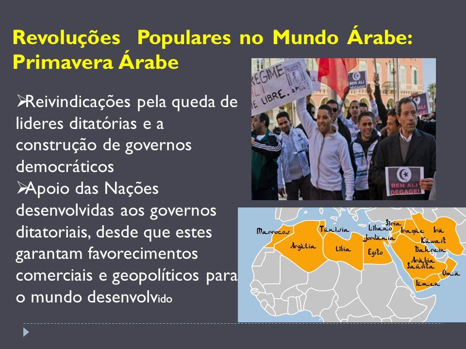 Onde tudo começou: Tunísia: Revolução de Jasmin (dezembro de 2010 ) Em 14 de janeiro, o presidente Zine Al-Abidine Ben Ali (no poder desde 1987) deixou o país.