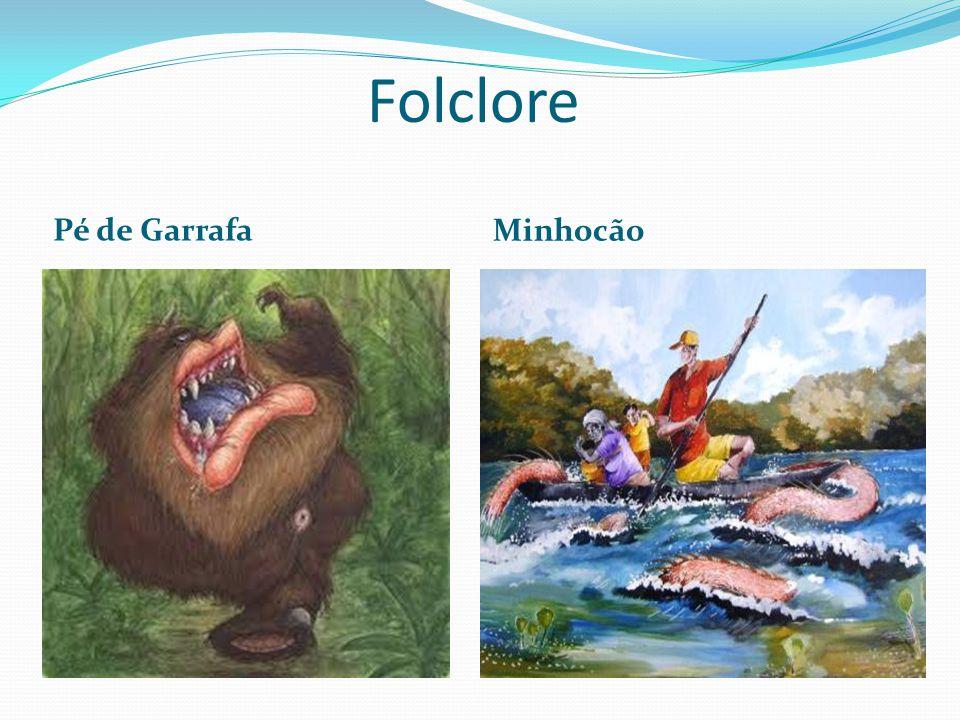 Folclore Pé de Garrafa Minhocão