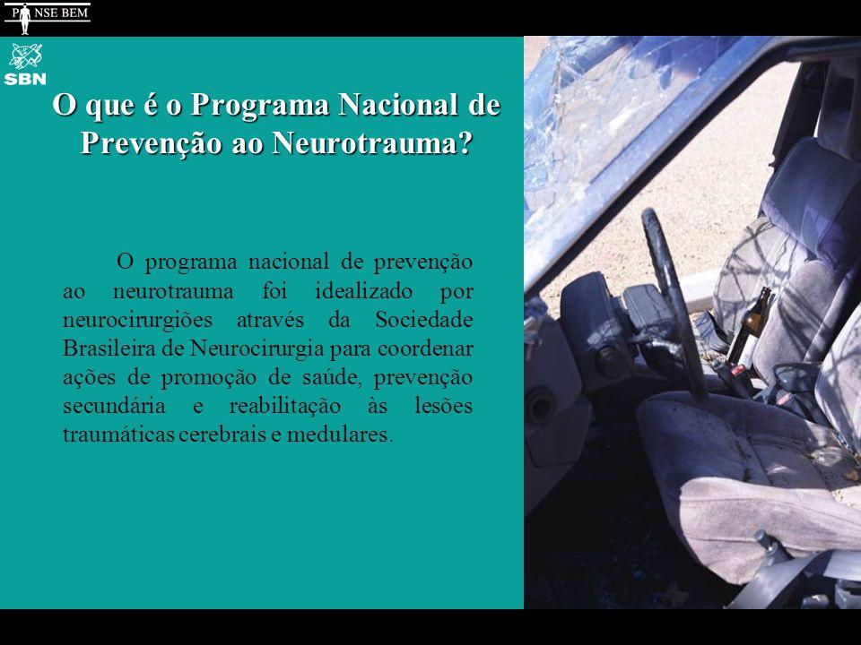O que é o Programa Nacional de Prevenção ao Neurotrauma.