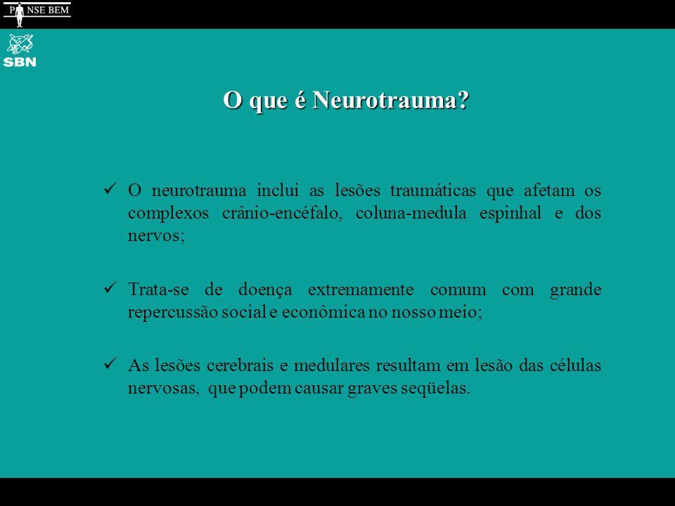 O que é Neurotrauma.