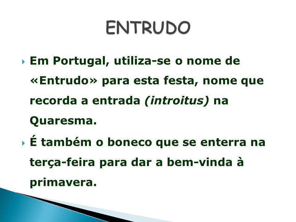 O Carnaval ou Entrudo em Portugal