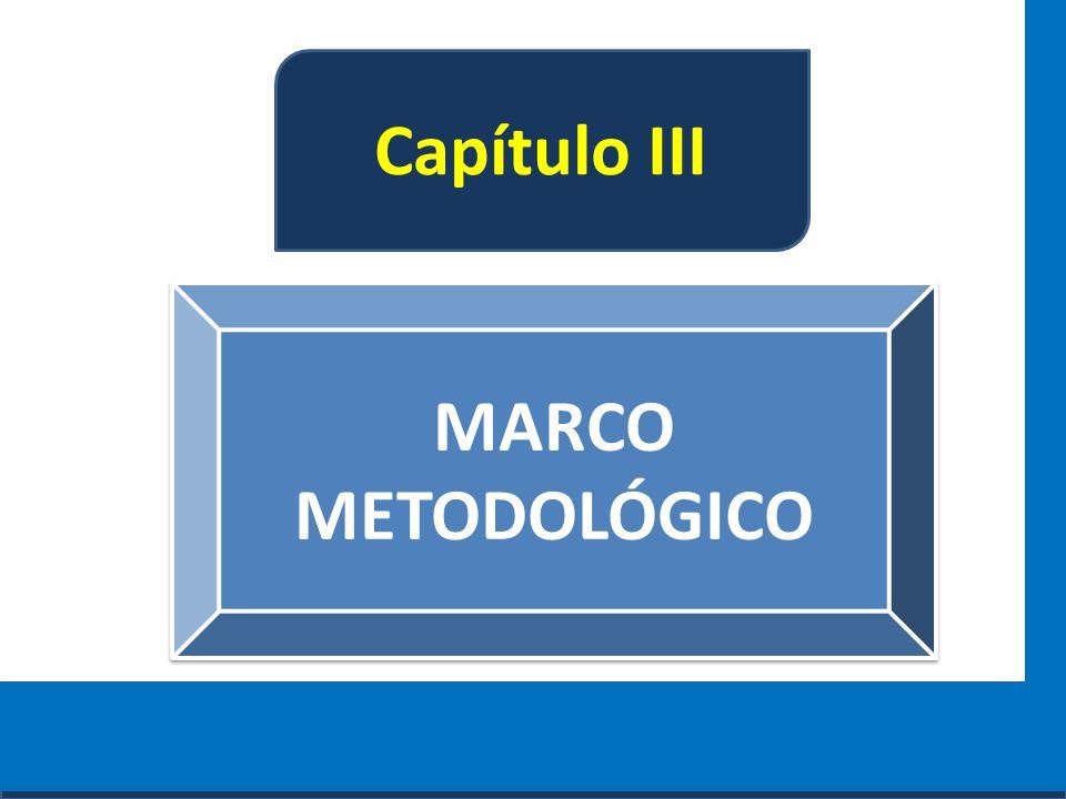 Cursos a Distância em todo o Brasil www.institutoprominas.com.br 0800 283 8380 Capítulo III MARCO METODOLÓGICO