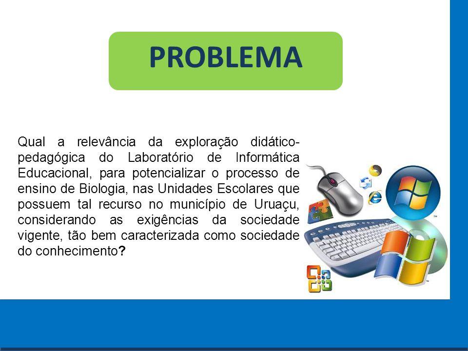 Cursos a Distância em todo o Brasil www.institutoprominas.com.br 0800 283 8380 PROBLEMA Qual a relevância da exploração didático- pedagógica do Labora