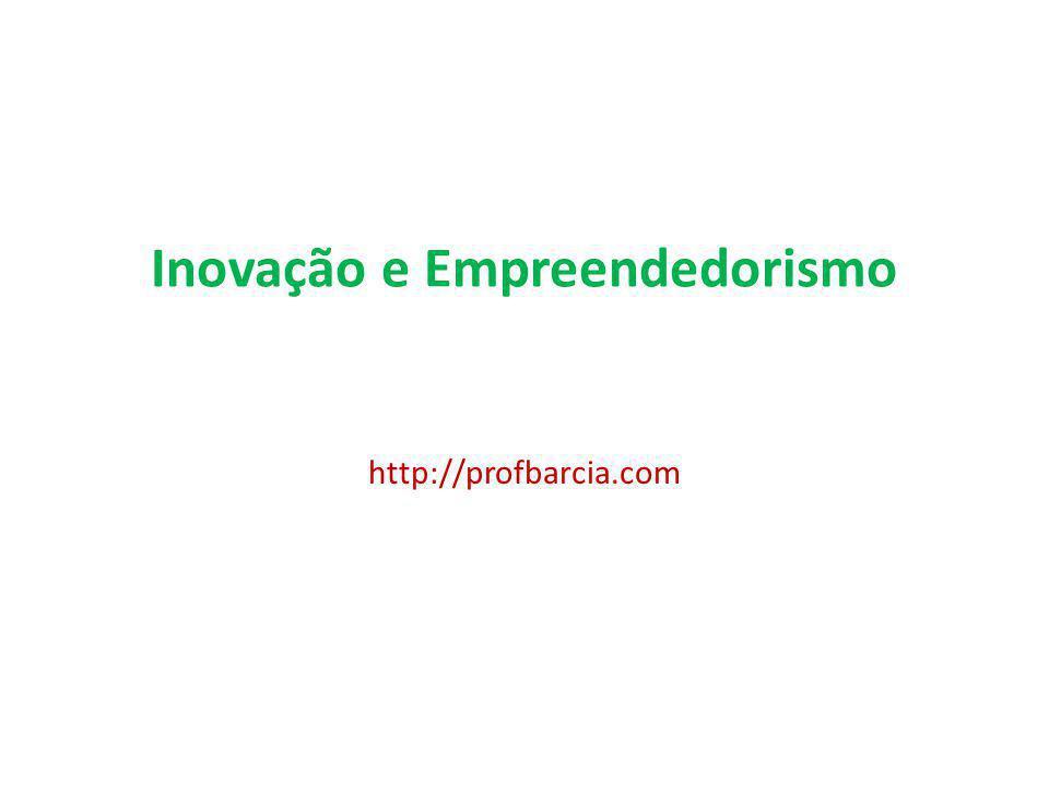 Inovação e Empreendedorismo http://profbarcia.com