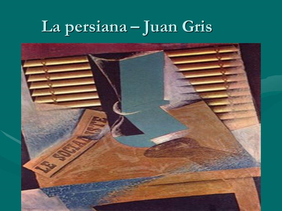 La persiana – Juan Gris
