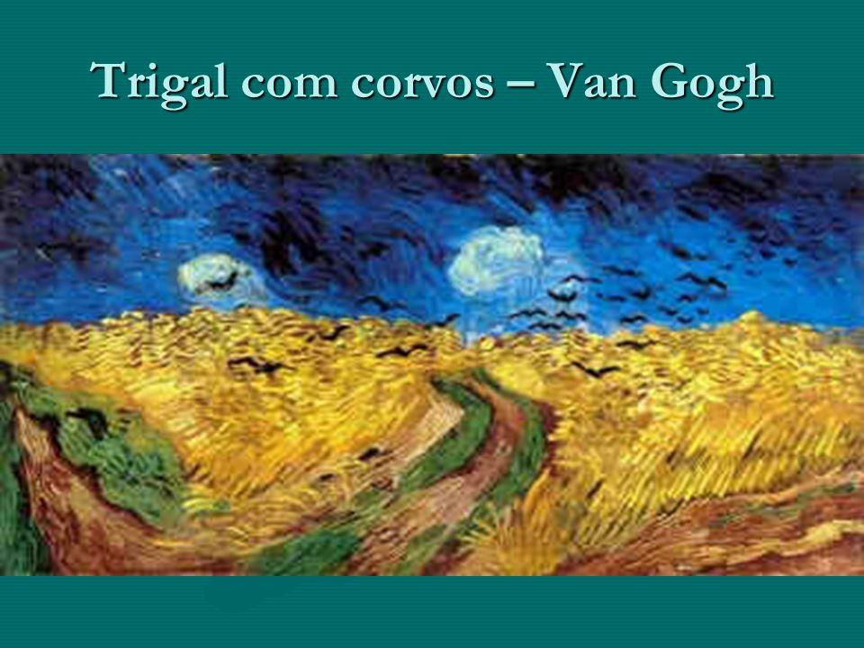 Trigal com corvos – Van Gogh