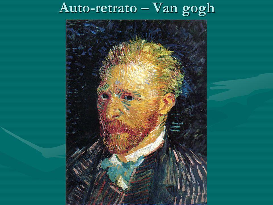 Auto-retrato – Van gogh
