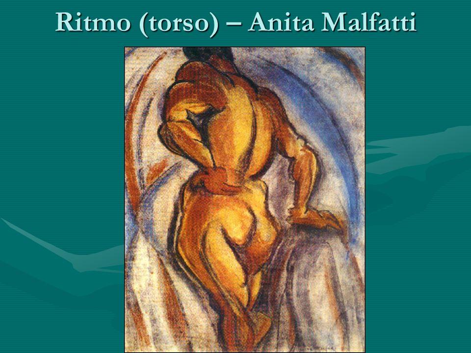 Ritmo (torso) – Anita Malfatti