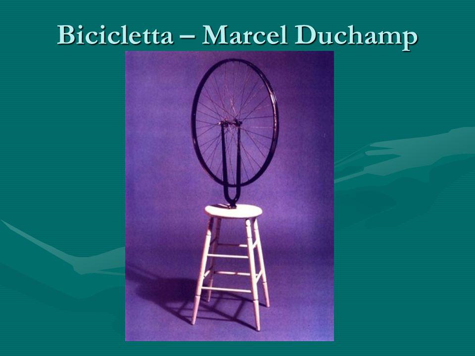 Bicicletta – Marcel Duchamp