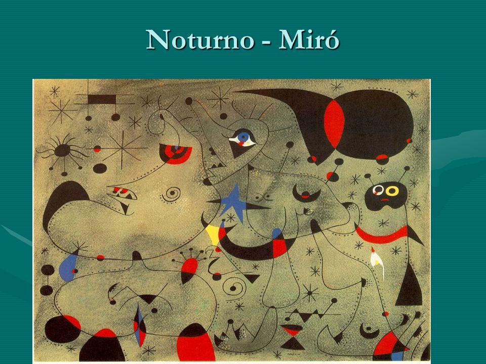 Noturno - Miró
