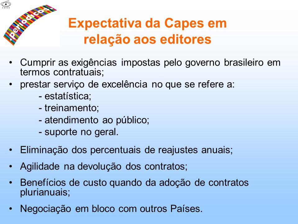 Cumprir as exigências impostas pelo governo brasileiro em termos contratuais; prestar serviço de excelência no que se refere a: - estatística; - trein