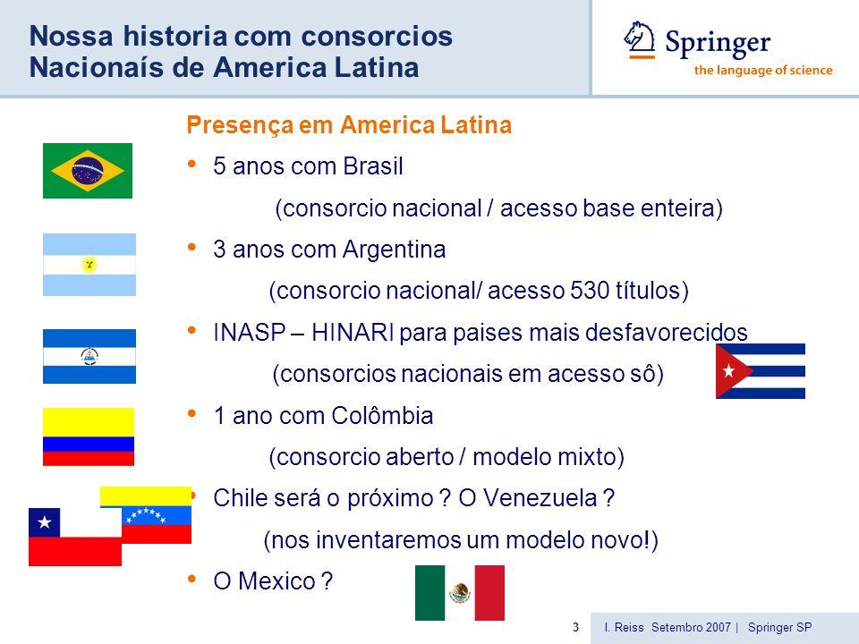 springer.com Springer no mercado STM