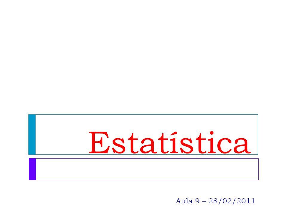 Linguagem estatística: