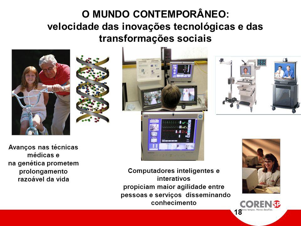 MUDANÇAS SÃO NECESSÁRIAS E URGENTES Quino Globalização; Mercosul; Difusão do conhecimento; Clientes cientes de seus direitos; Técnologia; Etc....