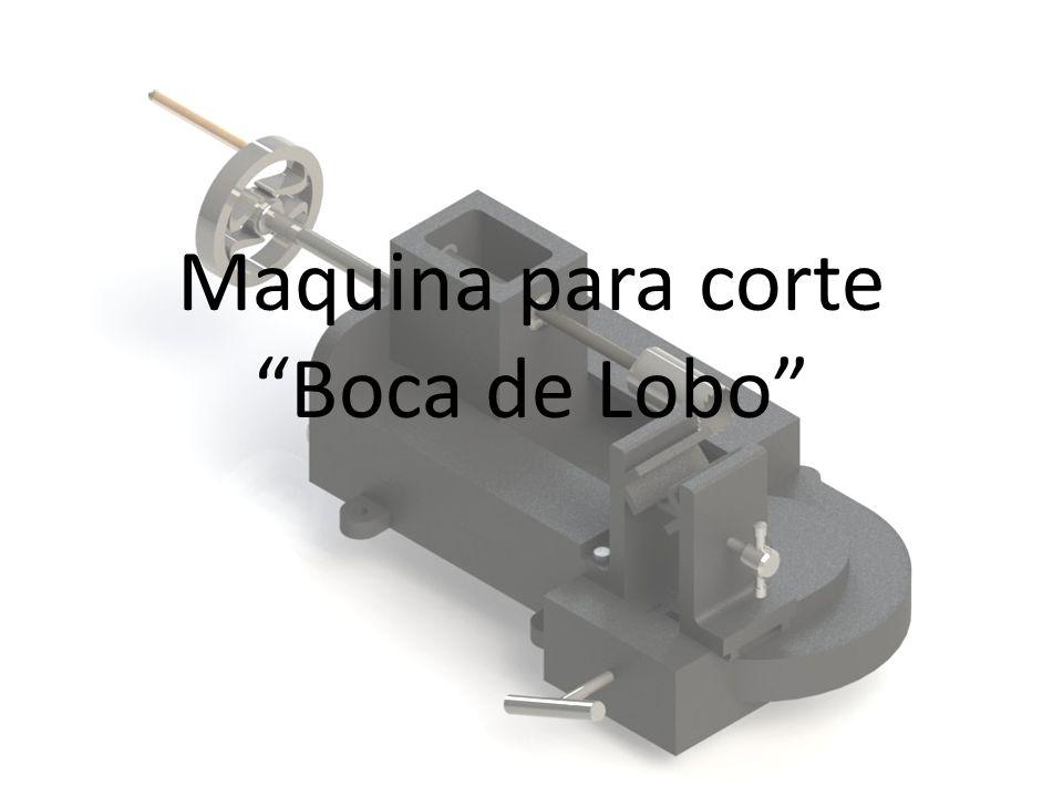 "Maquina para corte ""Boca de Lobo"""