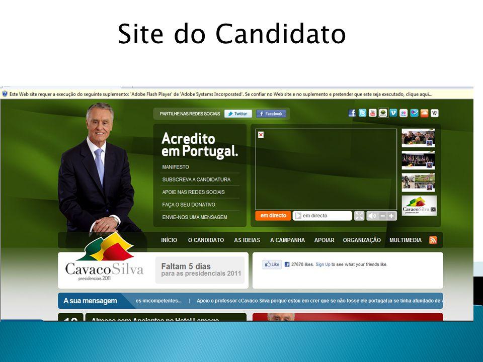  Web 2.0;  Blogs;  Redes sociais;  Imagens e som;  Sítio de partilha de vídeos.