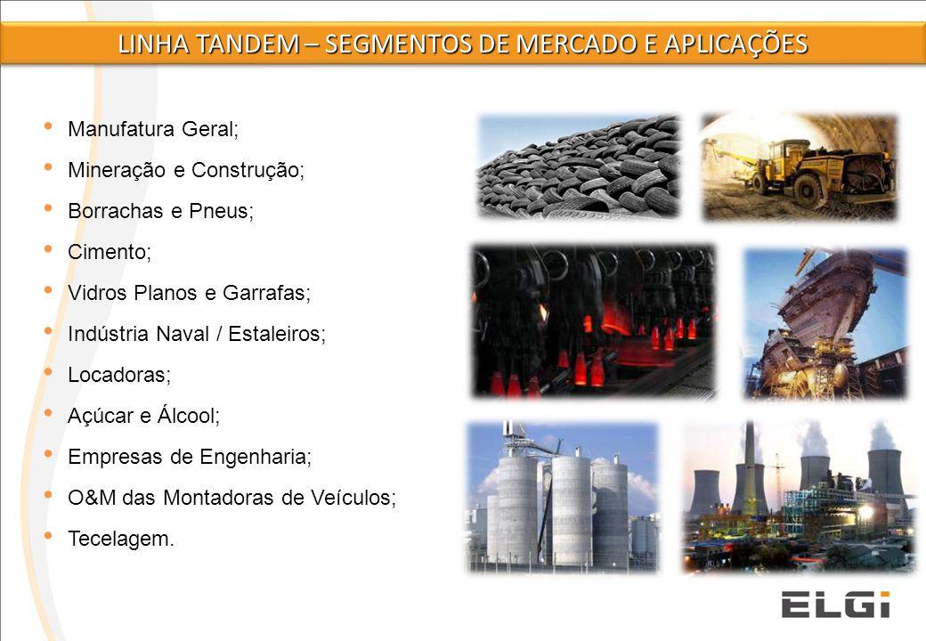 2 Manufatura Geral; Mineração e Construção; Borrachas e Pneus; Cimento; Vidros Planos e Garrafas; Indústria Naval / Estaleiros; Locadoras; Açúcar e Ál